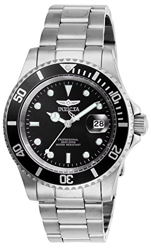 Invicta Pro Diver Quartz Watch with Stainless Steel Strap
