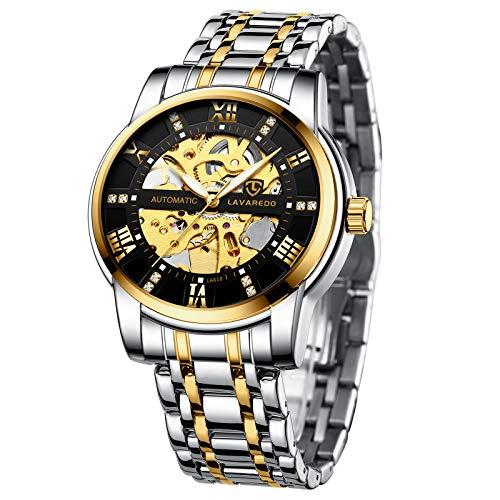 A Alps Luxury Mechanical Skeleton Automatic Wrist Watch