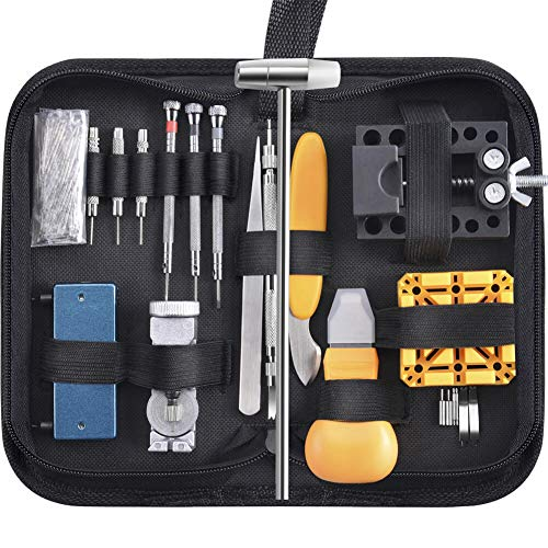 Paxcoo 168 Pcs Watch Repair Tools Kit